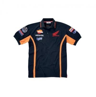 Honda T-shirt Repsol Blu/Arancio