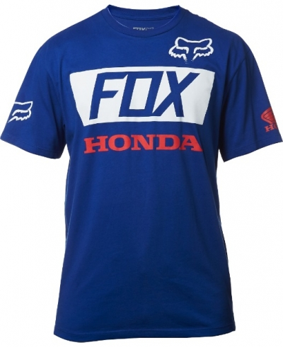 Fox Honda Basic T-shirt Blu