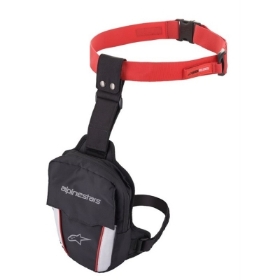 Alpinestars Access Thigh Bag Nero/Rosso