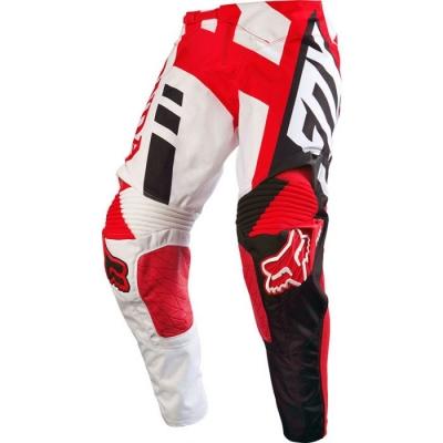 Fox Honda 360 2016 Bianco/Rosso Pantaloni