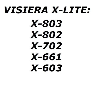 X-lite Visiera SPAVIS0000194 Dark Smoke