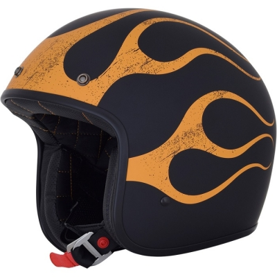 AFX FX76 Flame Arancio/Nero Opaco
