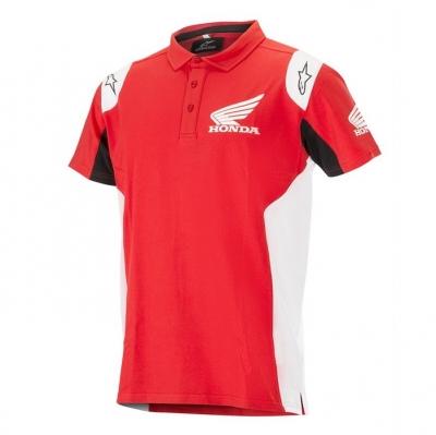 Alpinestars Honda Polo Rosso