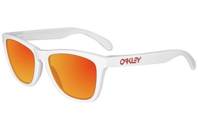 Oakley Frogskin Bianco/Rosso