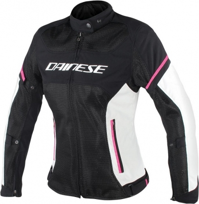 Dainese Air Frame D1 Nero/Rosa Giacca Donna