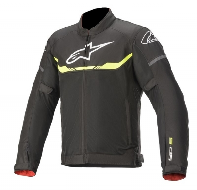 Alpinestars T-SPS Air Nero/Giallo Fluo