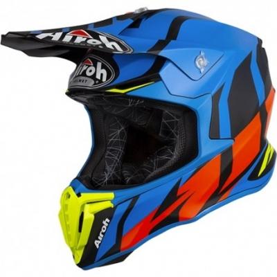Airoh Twist Great Nero/Azzurro Opaco