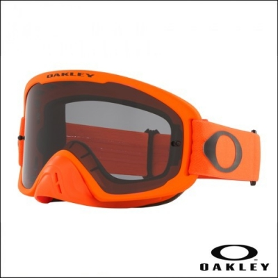 Oakley O'Frame 2.0 Moto Arancio Fluo Lente Dark Grey