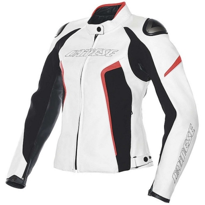 Dainese Racing D1 Bianco/Rosso Donna