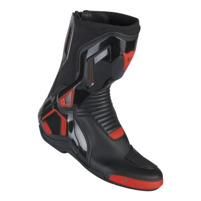 Dainese Course D1 Out Nero/Rosso Fluo
