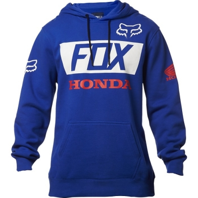 Fox Honda Basic Felpa Blu