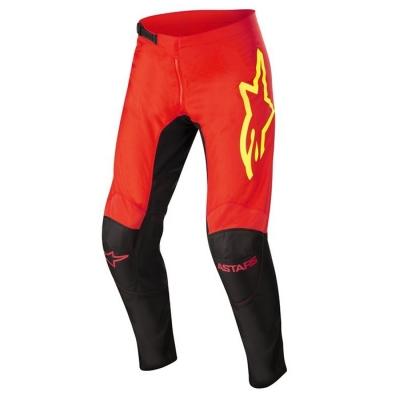 Alpinestars Fluid Tripple 22 Nero/Rosso Pantaloni