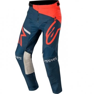 Alpinestars Racer 20 Tech Compass Rosso/Blu Pantaloni