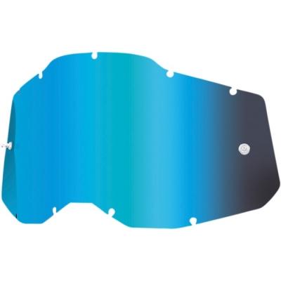 100% Serie 2 Lente A Specchio Blu