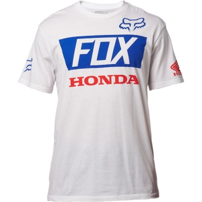 Fox Honda Basic T-shirt Bianco