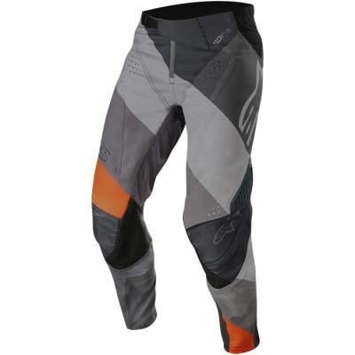 Alpinestars Techstar 19 Venom Grigio/Arancio Pantaloni