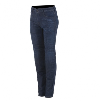 Alpinestars Daisy V2 Woman Denim Rinse Plus Blu Donna