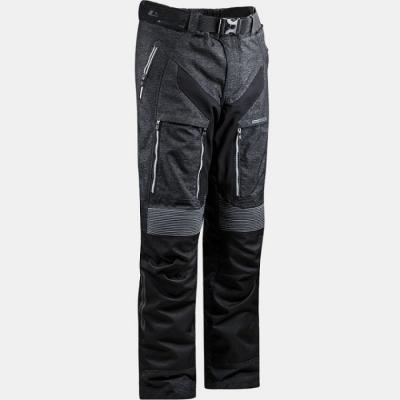 LS2 Nevada Man Nero/Grigio Pantaloni