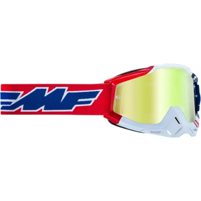 FMF Vision Powerbomb US of A Lente Oro