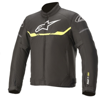 Alpinestars T-SP S WP Nero/Giallo Fluo