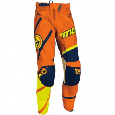 Moose M1 S7Y Arancio/GIallo Fluo Pantaloni Bambino