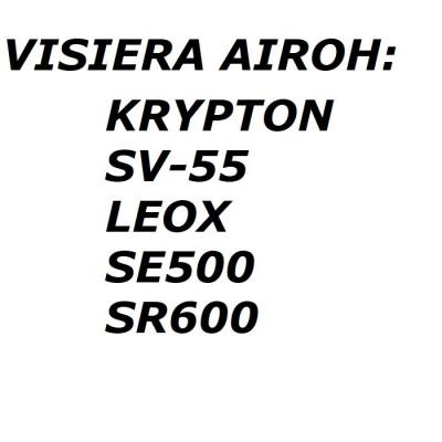 Airoh Visiera 05KRFS Dark Smoke