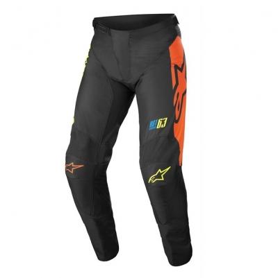 Alpinestars Racer Youth Compass 22 Nero/Arancio Pantaloni Bambino