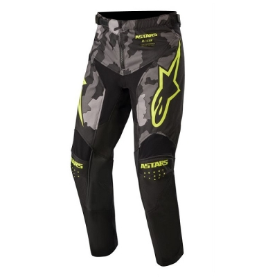 Alpinestars Racer Youth 20 Tactical Camo/Giallo Fluo Pantaloni Bambino
