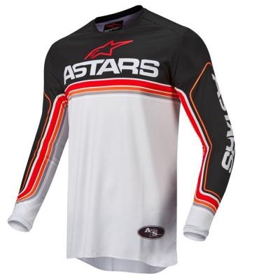 Alpinestars Fluid Speed 22 Nero/Bianco/Rosso Maglia