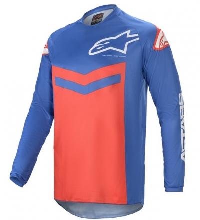 Alpinestars Fluid Speed Rosso/Blu Maglia
