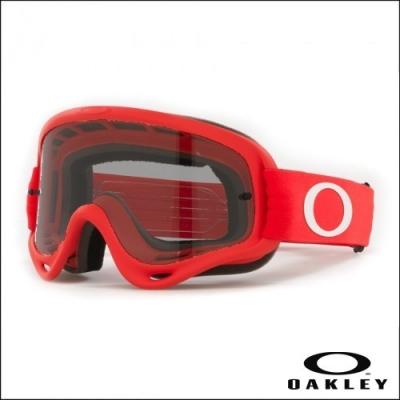 Oakley O'Frame Moto Rosso Lente Dark Smoke