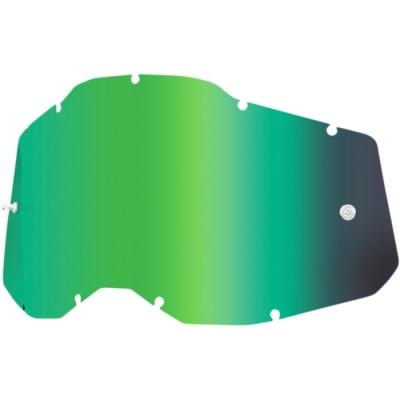 100% Serie 2 Lente A Specchio Verde