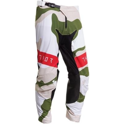 Thor Prime Pro S20 Baddy Bianco/Verde Pantaloni