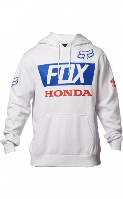 Fox Honda Basic Felpa Bianco