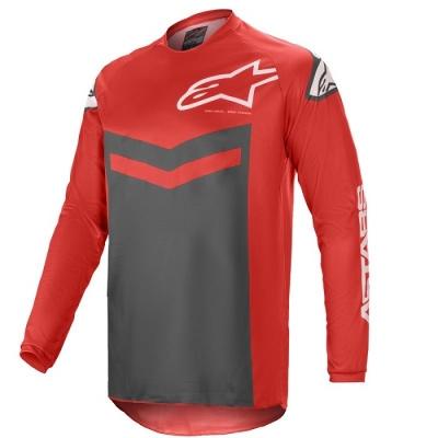 Alpinestars Fluid Speed Rosso/Antracite Maglia