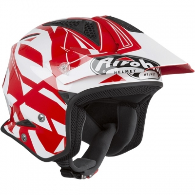 Airoh TRR S Convert Rosso/Bianco