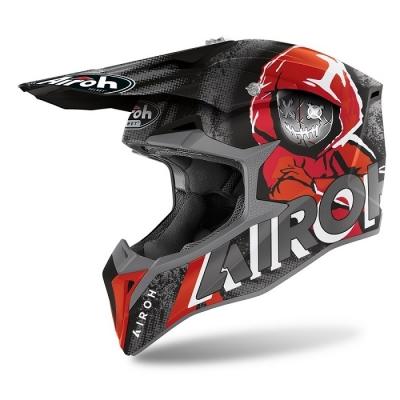 Airoh Wraap Alien Rosso Opaco