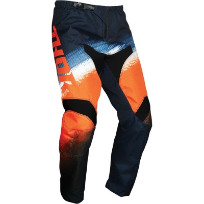 Thor Sector Yth Vapor Arancio/Blu Pantaloni Bambino