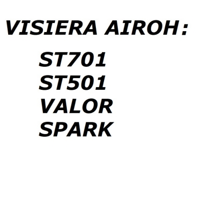 Airoh Visiera 05ST7AG Argento
