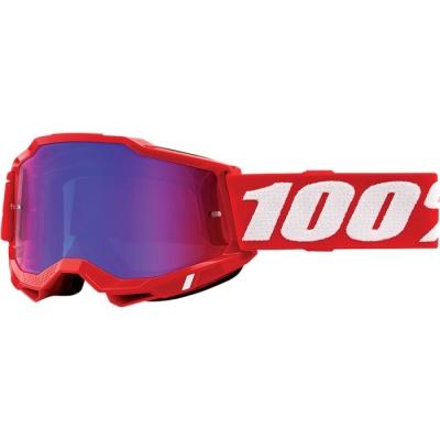 100% Accuri 2 Rosso Lente Blu