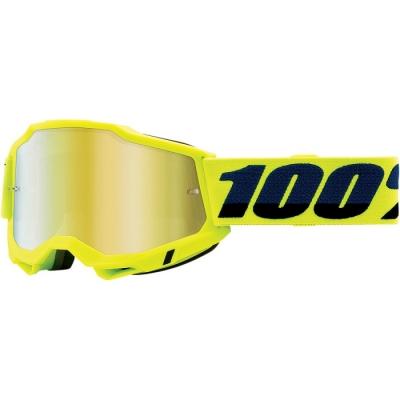 100% Accuri 2 Giallo Fluo Lente Oro