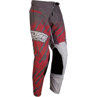 Moose Qualifier S20 Grigio/Rosso Pantaloni